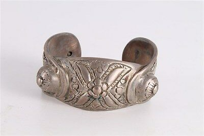 Antique Authentic Hand Made Bronze Byzantine Woman Fertility Bracelet.