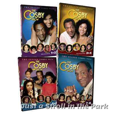 The Cosby Show Complete TV Series Seasons 1 2 3 4 5 6 7 8 Box/DVD Set(s) New!