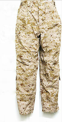 NWT USMC Frog Combat Digital Desert Marpat Trouser Size Small Regular