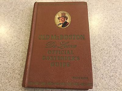 Old Mr. Boston DeLuxe Official Bartenders Guide-Book 1955 12th Edition