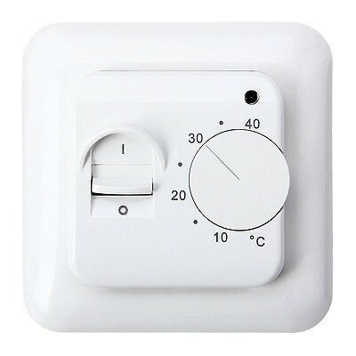 Room Floor Heating Thermostat Air Condition Temperature Control Switch 16A 230V