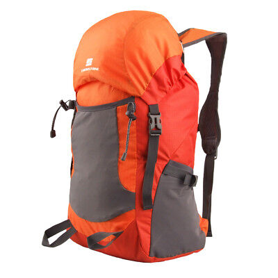 35L Waterproof Foldable Backpack Travel Camping Hiking Luggage Rucksack Bag