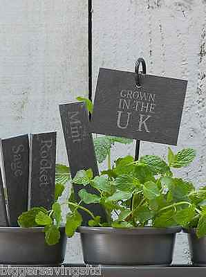 Garden Trading Grown In The Uk Plant Slate Tags Markers