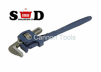 """14"""" 350mm Pipe Wrench Stilsons Adjustable Spanner Quality Heavy Duty New CT0064"""