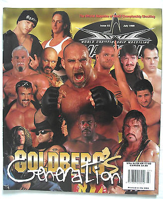 Wcw / Wwe  Magazine / Issue 52 / July 1999 / Goldberg