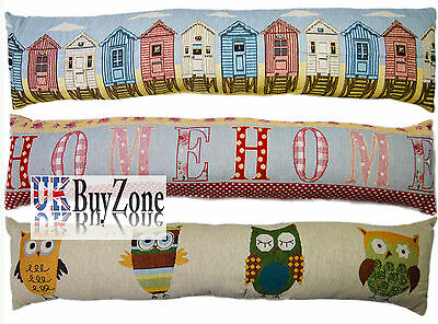 Novelty Tapestry Design Draught Draft Excluder Door Window Cushion Home Decor