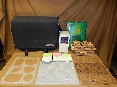 Scrap Book & Stamps Lot - 98+ Items