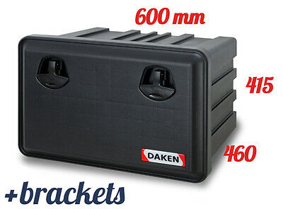 DAKEN Just 600 TOOL BOX 71.5L WITH MOUNTING BRACKETS / Truck / Lorry / Bus