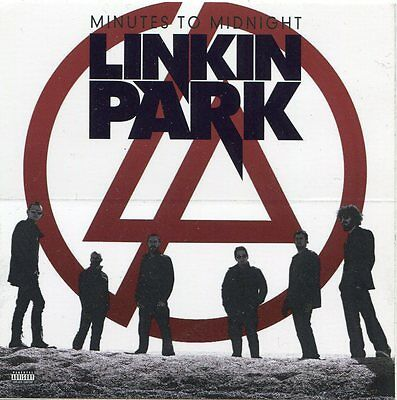 LINKIN PARK 2007 Minutes to Midnight promo Sticker Card!!!  #1