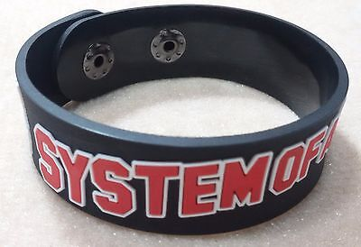 New System Of A Down  Rubber Bracelet Wristband Unisex Women Souvenirs Day Wb52