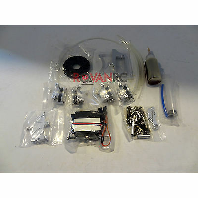 New 1/5 Scale Rovan 4 Wheel Hydro Disc Brake Kit Fit HPI Baja 5B 5T King Motor