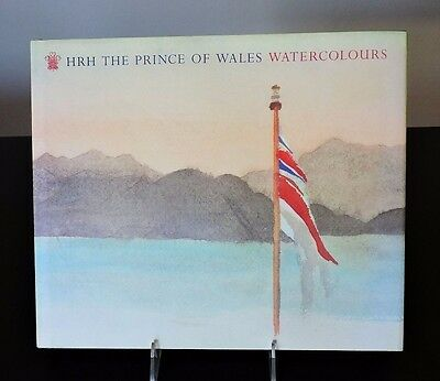 Collectible HRH THE PRINCE OF WALES WATERCOLOURS - Harcover w/ DJ
