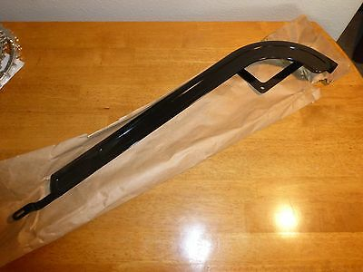 Vintage 1960's - 1970's Schwinn Hockey Stick Chainguard -Gloss Black
