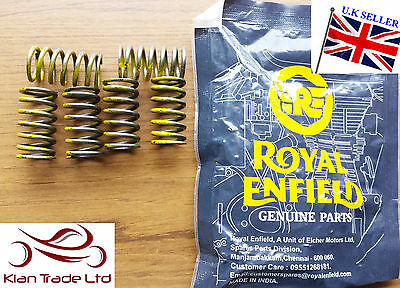 MOTORBIKE SPARE PART ROYAL ENFIELD BULLET 6 Pc CLUTCH SPRING YELLOW KIT #146029