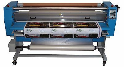 """GFP 847DH 47"""" Dual Heat Laminator W/ Stand Install & Training"""