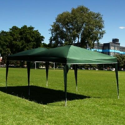 Palm Springs 10ft x 20ft Green Pop Up EZ Set Up Canopy Gazebo Party Tent