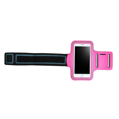 Sports Running Workout Gym Armband Case Samsung Galaxy Note 2 3 4 5 Hot Pink