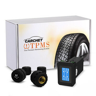 Car Auto TPMS Tyre Tire Pressure Monitoring System+4 External Sensors for Toyota
