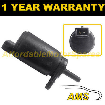 For Jaguar S-Type 2001-2007 Front Single Outlet Windscreen Washer Water Pump