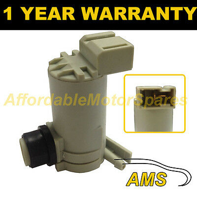 For Nissan X-Trail Xtrail 2001-03 Front Single Outlet Windscreen Washer Pump