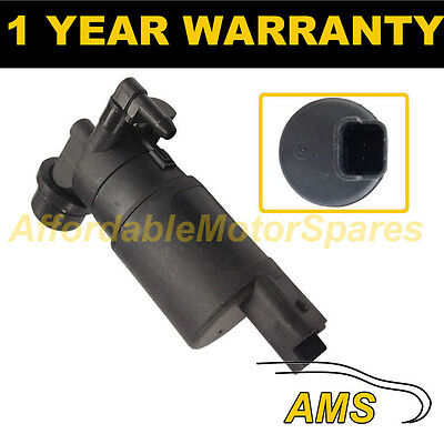 For Vauxhall Opel Vivaro 2001- Front Single Outlet Windscreen Washer Water Pump