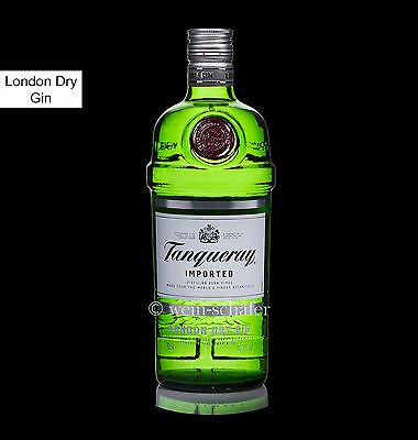 TANQUERAY Gin - London Dry Gin - four times distilled - England / Schottland
