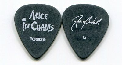 "ALICE IN CHAINS 2006 Tour Guitar Pick!!! JERRY CANTRELL custom concert stage ""M"""