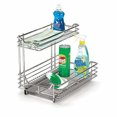 Household Essentials C26512-1 Glidez™ Sliding Sink Organizer