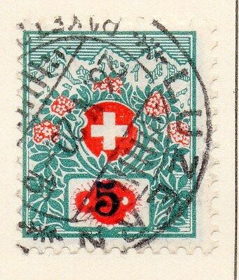 Switzerland 1917 Early Issue Fine Used 5r. 166352