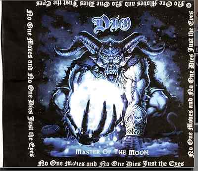 Ronnie James Dio Master Of The Moon BANDANA official licensed item black sabbath