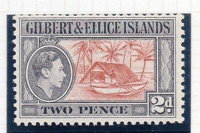 Gilbert and Ellice Islands 1939 Early Issue Fine Mint Hinged 2d. 165566