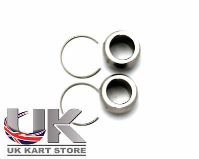 TonyKart / OTK Castor Repair Kit (Inc 2 x Bearing And 2 x Circlip) Go Kart