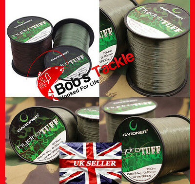 Gardner Hydro Tuff Mainline - Available in 12lb and 15lb Lo -Vis Green.