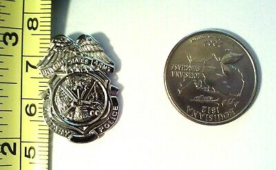 """Military Police U.S. Army MP  Hat Pin 7/8"""""""