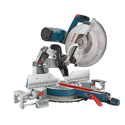 "Bosch Tools 12"" Dual-Bevel Glide Miter Saw GCM12SD NEW"