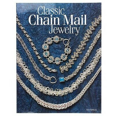 Classic Chain Mail Jewelry Making Book | A Treasury of Weave (D18/3)