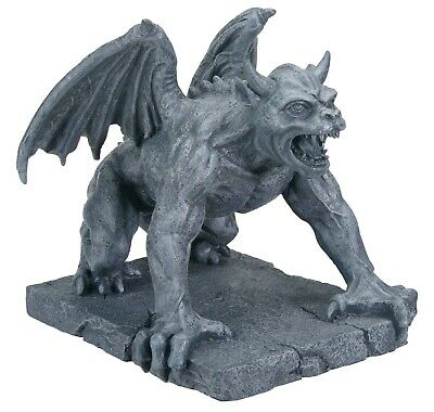 Crouching Conall Gargoyle Sculpture Statue Medieval Collectible Guardian Decor