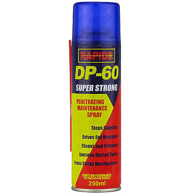 24 x 250ml DP-60 Penetrating Releasing Cleaning Maintenance Spray DP60 Lubricant