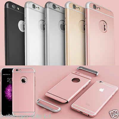 Luxury Ultra-thin Shockproof Armor Back Case Cover for Apple iPhone 5 6S 7 Plus