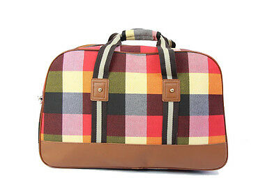 Hospital Bag Signature Red & Yellow Plaid Materity Bag ONLY