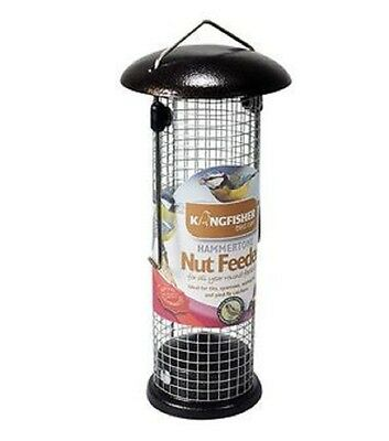 Premium Wild Bird Nut Feeder with Hammertone Finish- Kingfisher Garden
