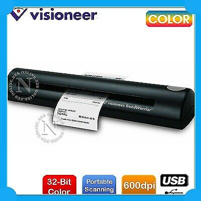 Visioneer RoadWarrior A4 Portable Sheetfeed Color USB Mobile Document Scanner