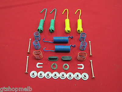 FORD FALCON REAR BRAKE DRUM SPRING KIT LEFT & RIGHT for XR XT XW XY XA XB