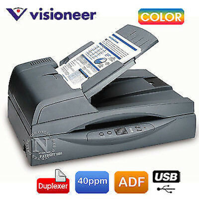 Visioneer Patriot 680 A4 Color Flatbed Document Photo Scanner+Duplexer RRP$1150