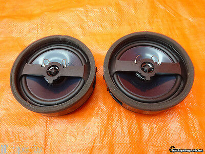 08-14 Lancer Evox Mr Gsr Ralliart Oem Rockford Fosgate Rear Speakers
