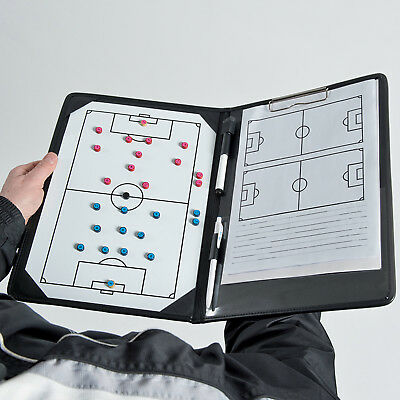 Precision Training Magnetic Pro Soccer Coaches Tactic Folder Size A4 rrp£24