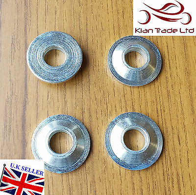 M6 METRIC Misalignment Spacers for use with rod ends - PACK OF 4
