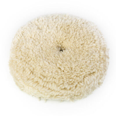"7"" POLISHER/BUFFER SOFT WOOL BONNET PAD for CAR POLISHING/BUFFING/CLEANING"