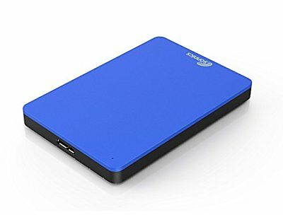 "Sonnics 250Gb External Portable Hard Drive 2.5"" Inch Usb 2.0 Blue Brand New"