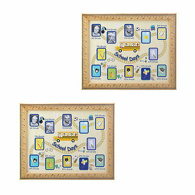 PHOTO FRAME: 2 SCHOOL DAYS Grades 1-12 Picture Frames - $24.91 ...